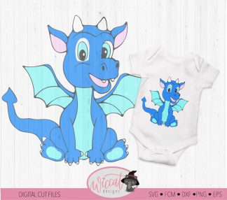 Dragon Baby boy for boy shirt or Boy nursery