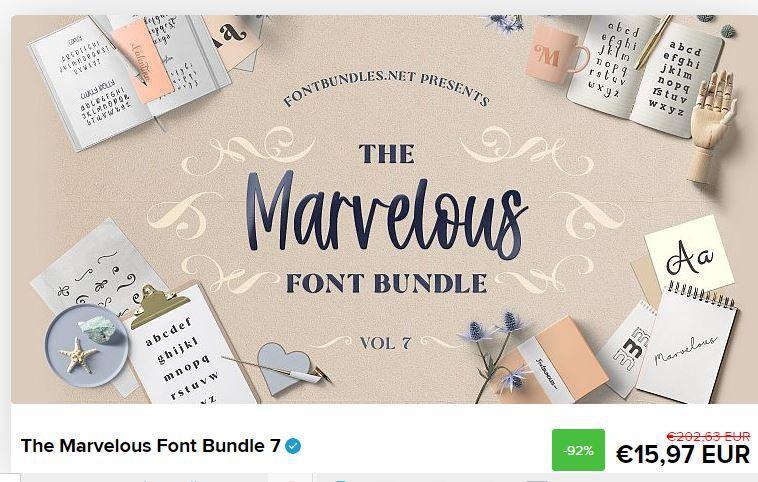 Awesome fontbundle